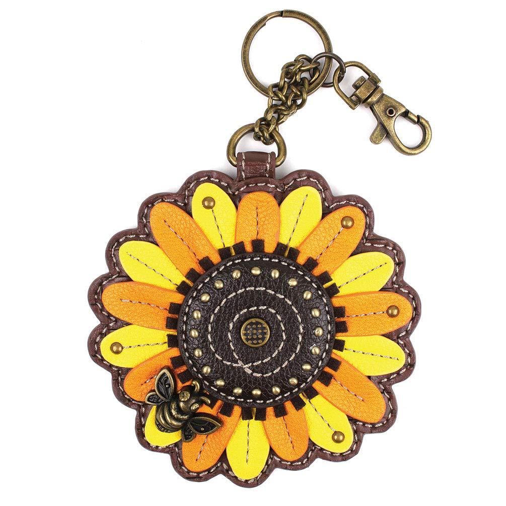 Chala Sunflower Key Fob Coin Purse Chala Keychain Buy Online In