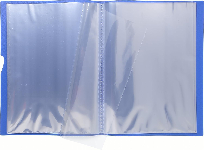 Carpeta de 30 fundas Exacompta 85393E color azul A4