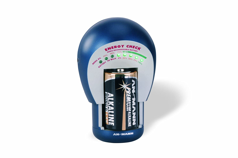 Ansmann Energy Check LCD EUR1485 4000392 Other Portable Electronics Accessories Portable_Electronics batterytester