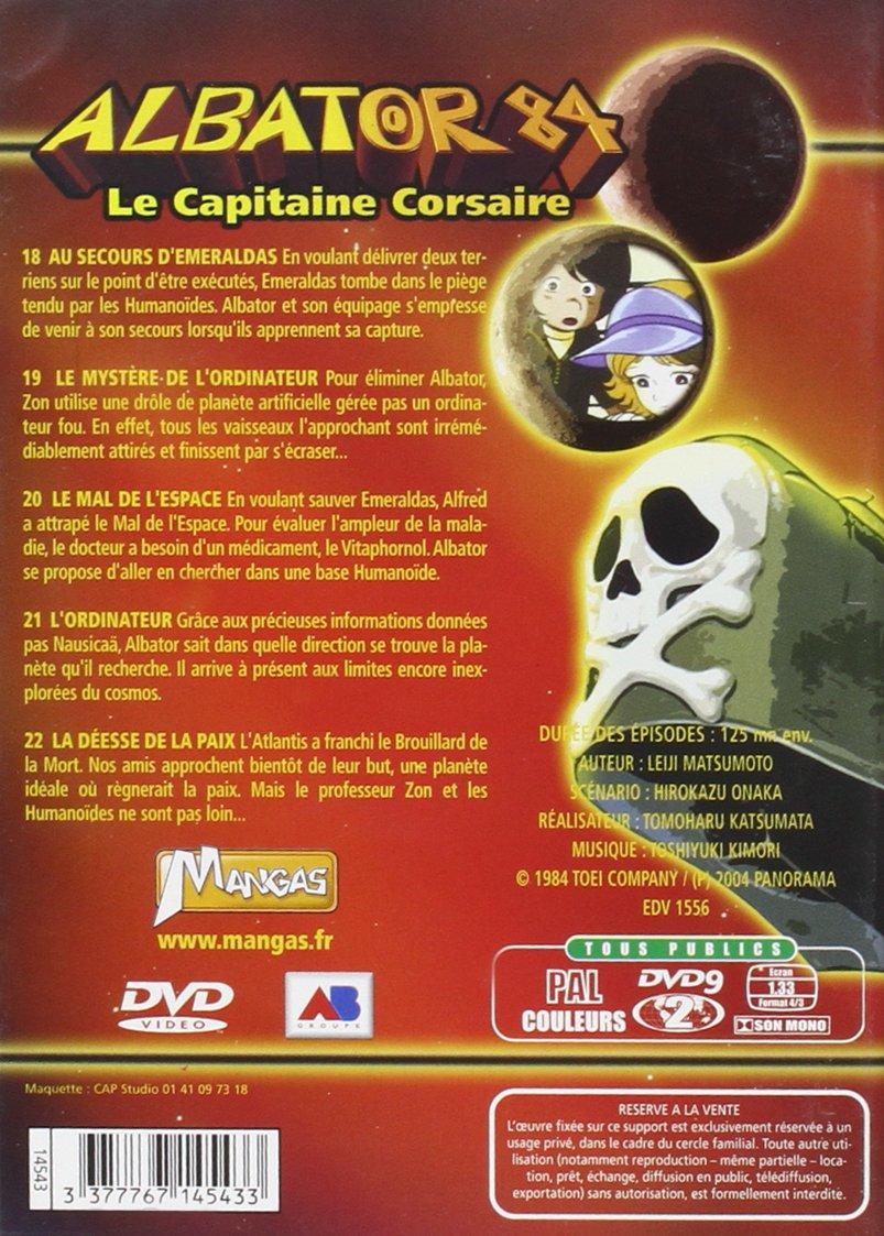 prix bas bon service original à chaud Amazon.com: Albator 84 - Le Capitaine Corsaire - Vol. 5 ...