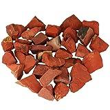 mookaitedecor 1 lb Bulk Natural Red Jasper Raw