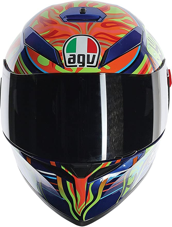 AGV 0301O0F000408 unisex-adult full-face-helmet-style K-3 SV 5-Continent (Multi, Medium-Large), 1 Pack