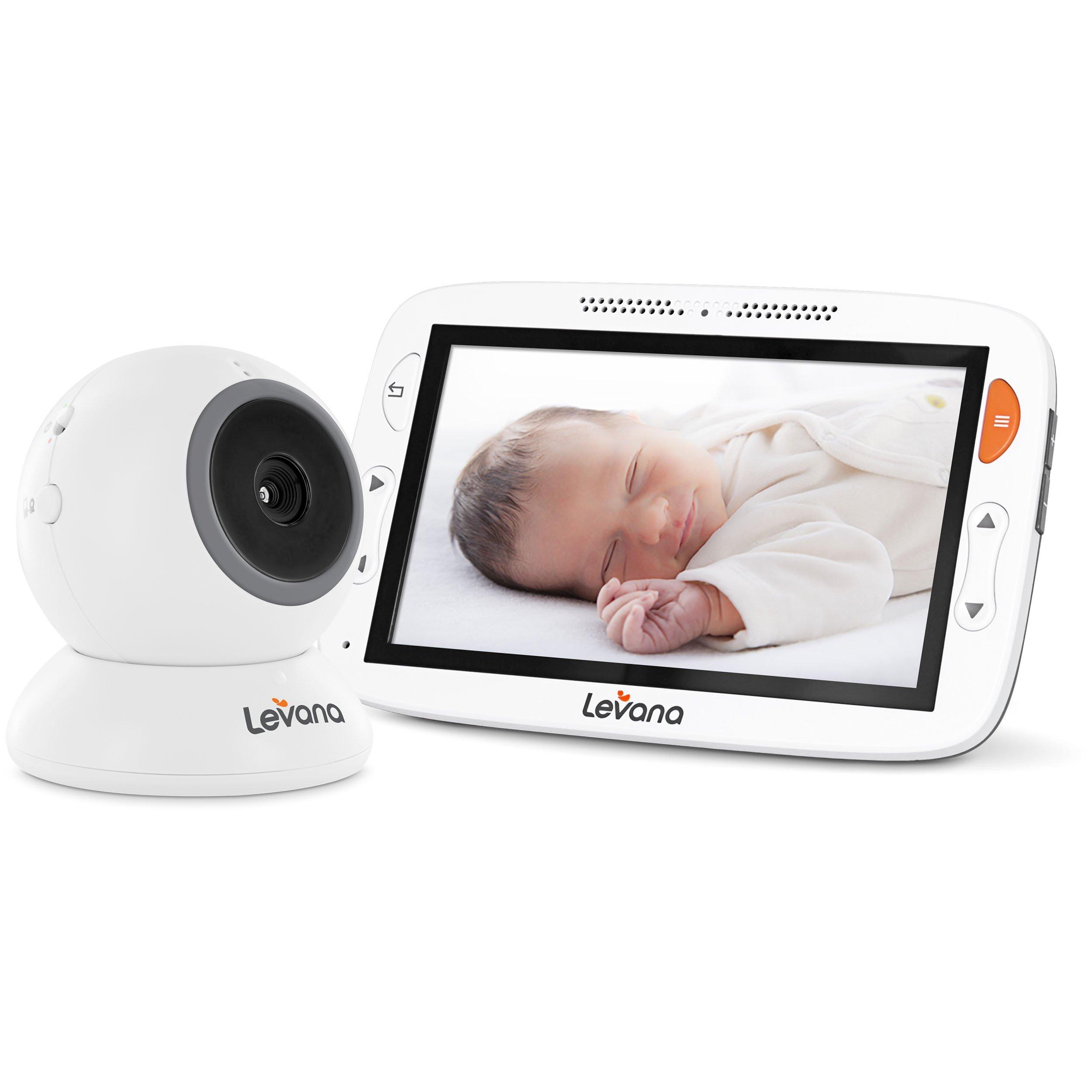 Levana Alexa 5'' LCD Video Baby Monitor