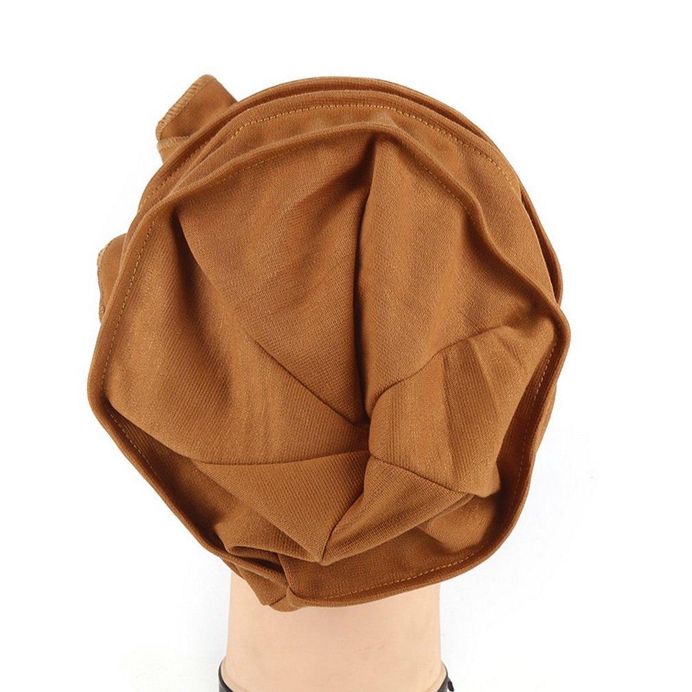 AOYOMO Women Lady Butterfly Sequins Headwear Bonnie Cap Beanie Hat