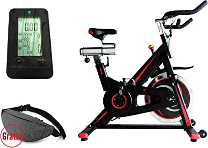 KS Kingstein Sports Indoor Cycling Bike/Speed Bike Ergometer ...