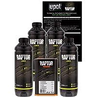 UPOL Raptor Black Bed Liner & Texture Coating, 4 Liters New