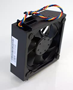 Genuine OEM Dell Precision 690 XPS 700 710 720 Hard Drive Assembly UJ023 Chassis Cooling Case Fan NMB-MAT Shroud Casing Plastic Bracket Cable Housing DesktopTower Cool Blower CD674 HD445