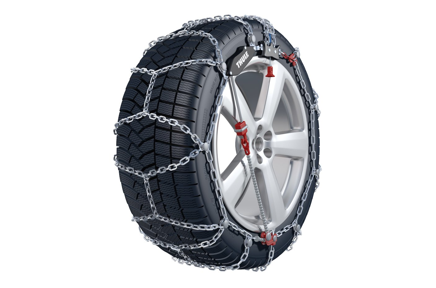 Kö nig XS-16 225 Snow chains, set of 2 Thule 2004605225
