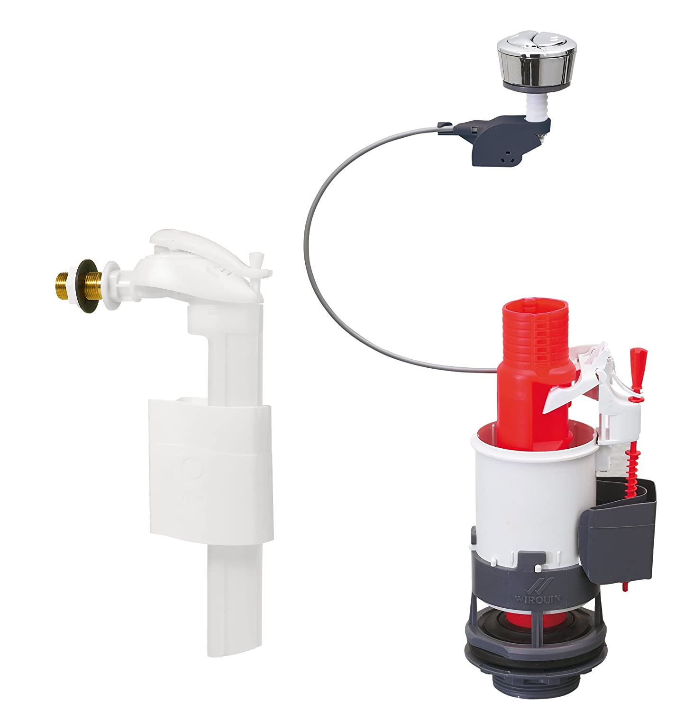 Wirquin 14013401 - Meccanismo di scarico a risparmio idrico Mw²90