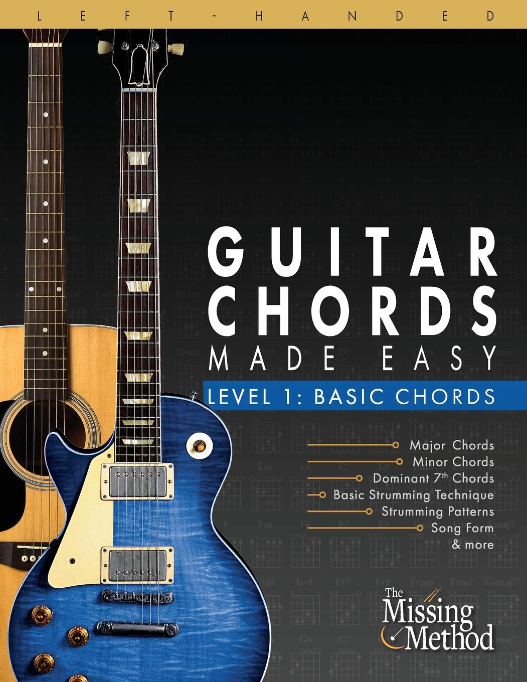 Left-Handed Guitar Chords Made Easy, Level 1: Basic Guitar Chords ...