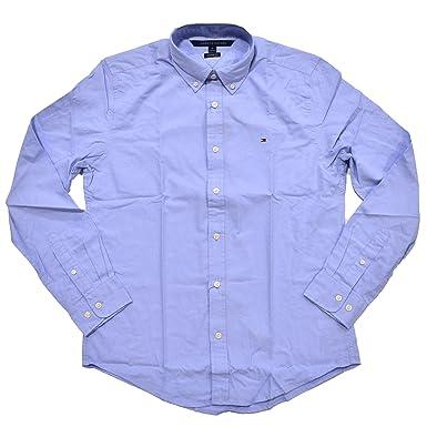 Tommy Hilfiger Mens Custom Fit Long Sleeve Buttondown Shirt at ...