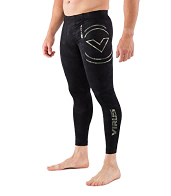 Amazon.com  Virus Mens RX7-V3 Stay Cool V3 Tech Compression Pants  Black CAMO  Clothing 87638c09b0c9
