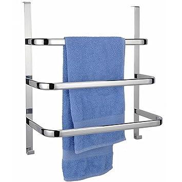 Türhandtuchhalter Handtuchhalter Handtuchhaken mit drei Handtuchstangen