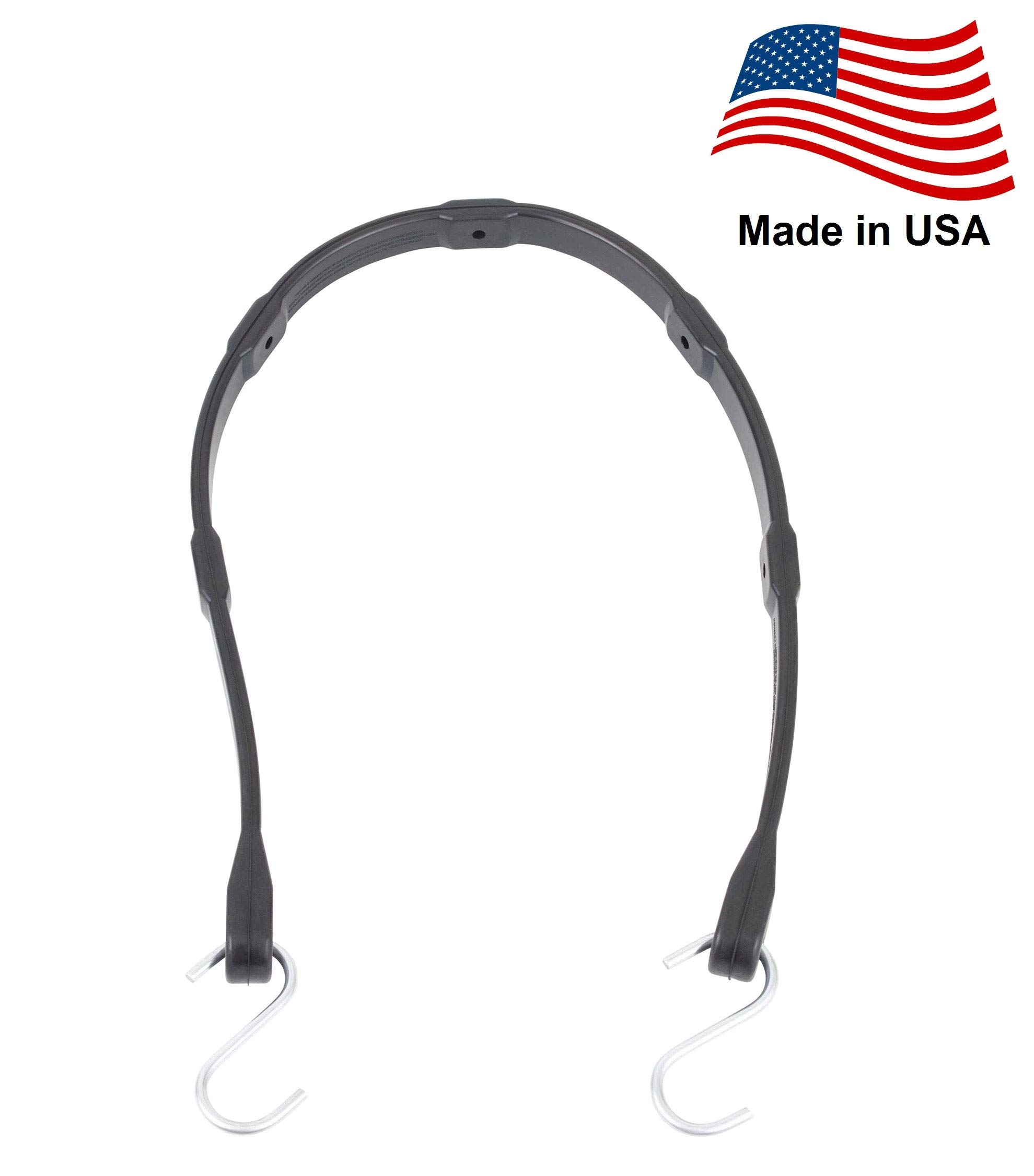 Mytee Products 30'' EPDM Adjustable Tarp Bungee Straps -50 Pack, Made in USA