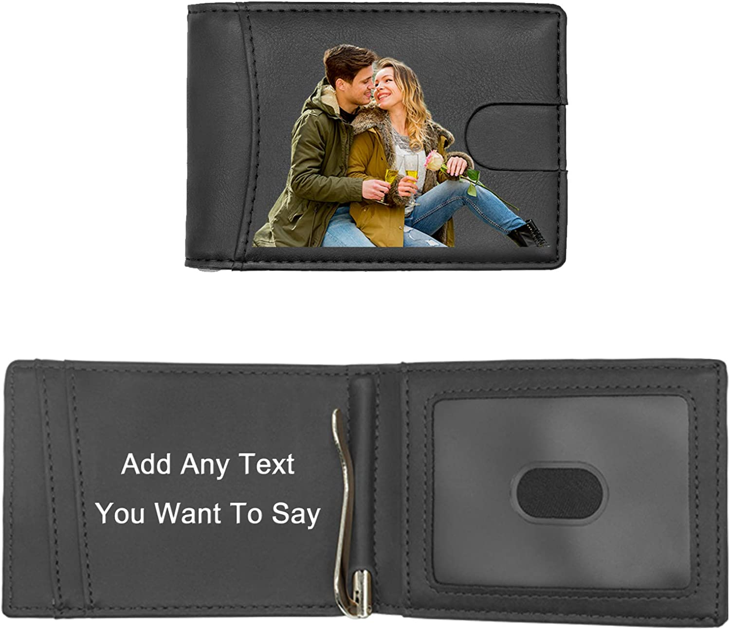 Personalised Any Text Any Image Wallet