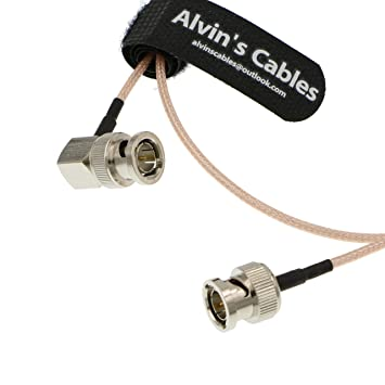 Alvins Cables BNC Macho a Macho RG179 Cable coaxial para ...