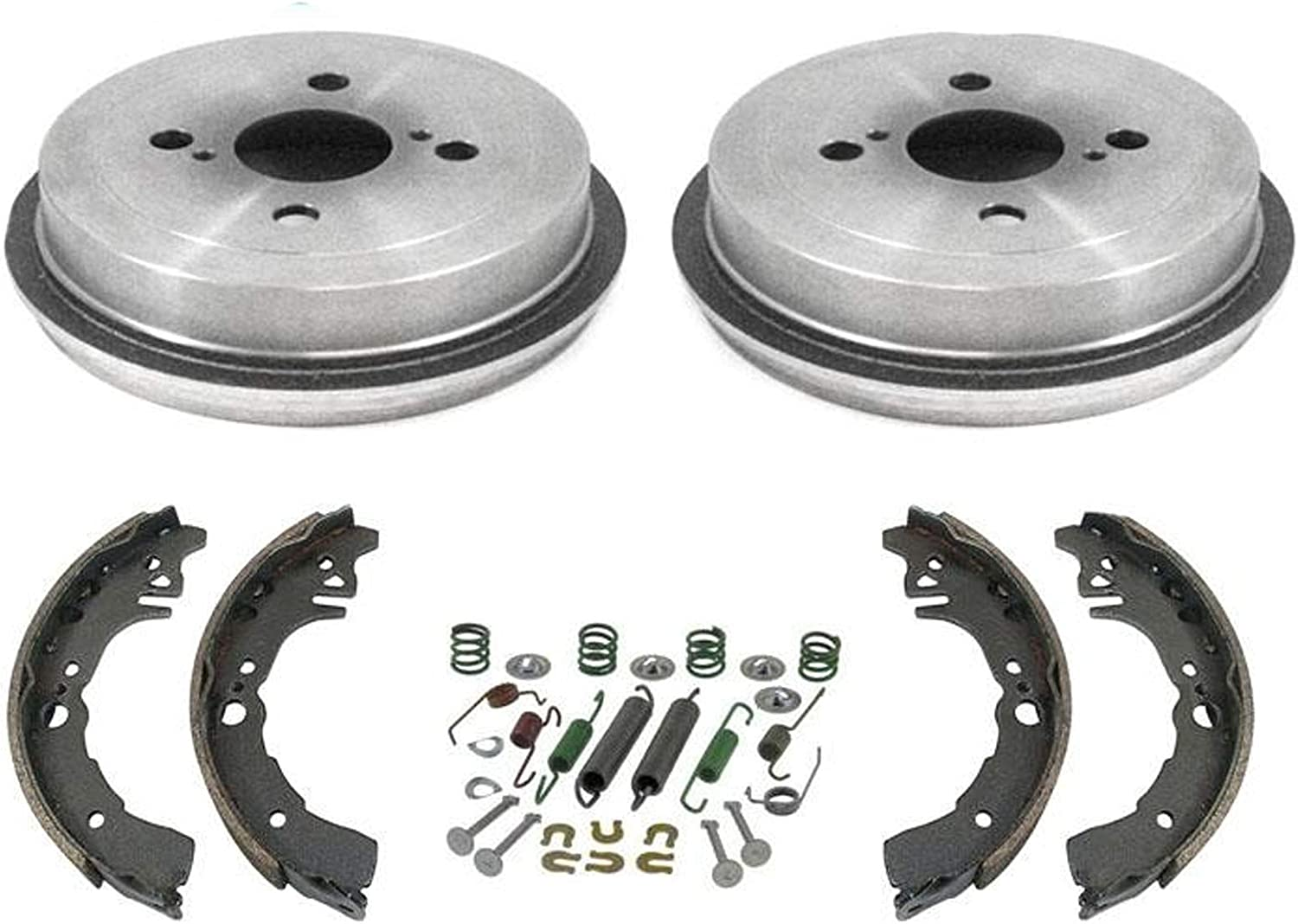 2002 For Toyota Echo Rear Drum Brake Shoes Set Both Left and Right with 2 Years Manufacturer Warranty