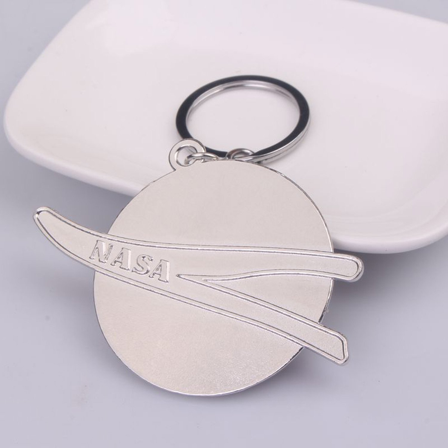 NASA Keychain NASA Alloy Pendant 1PCS