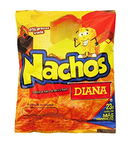 Amazon.com : Diana Nachos 0.53 oz (Pack of 12) (Pack of 1 ...
