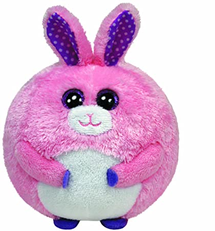 b675b2f9b59 Image Unavailable. Image not available for. Color  Ty Beanie Ballz -  Carnation The Pink Easter Bunny