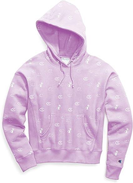 lilac champion hoodie