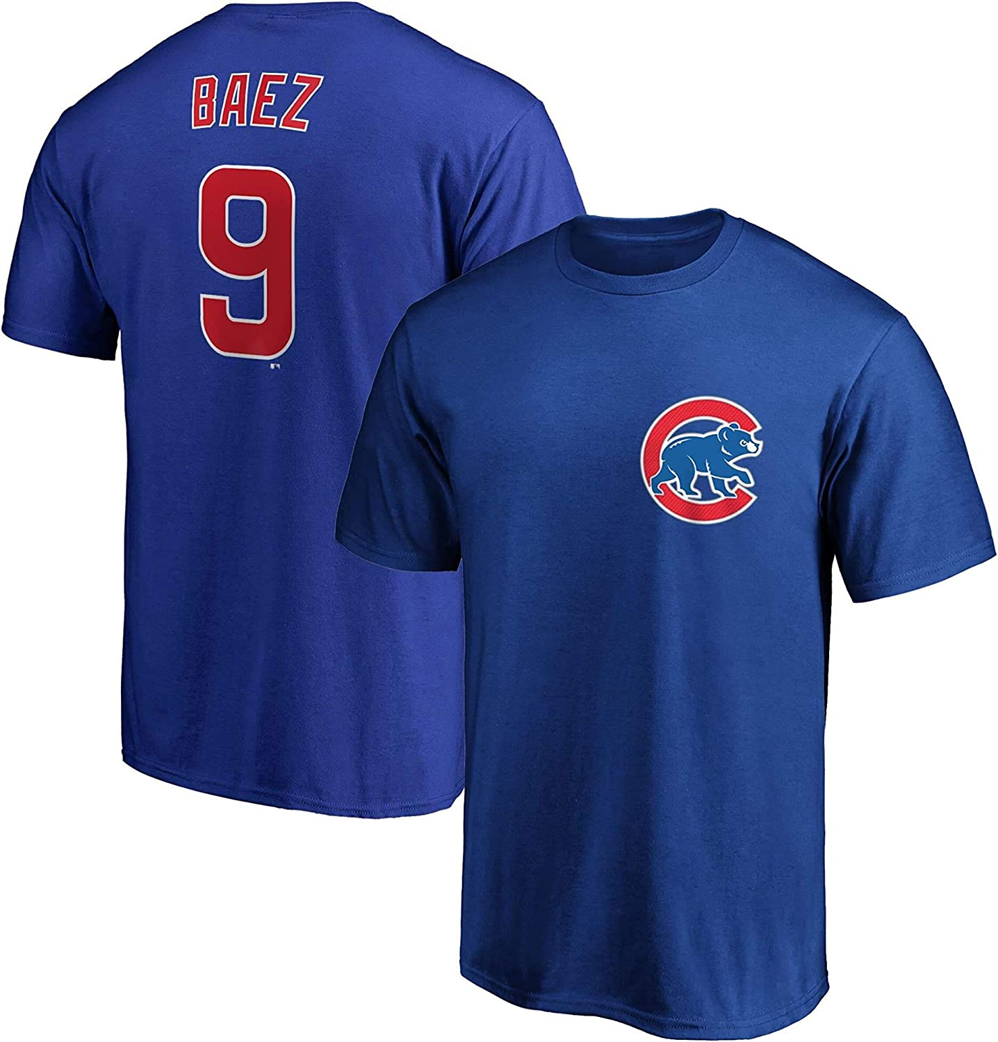 MLB Boys Youth 8-20 Team Color Official Player Name /& Number T-Shirt