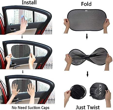4 Pack VZCY AU01002 Car Sun Shade
