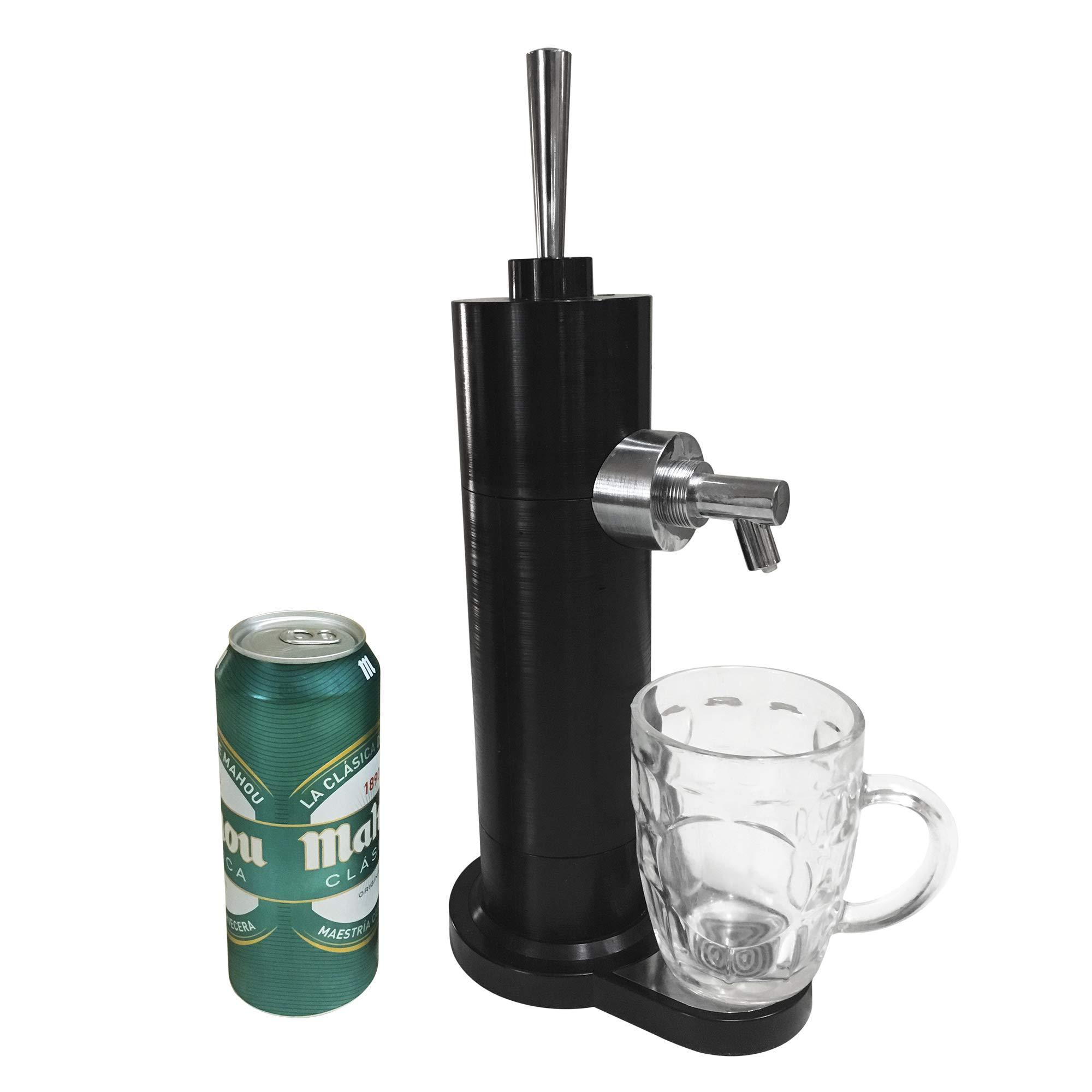 Grifo tirador de cañas de cerveza en lata (cualquier lata de 330,350, 500ml)
