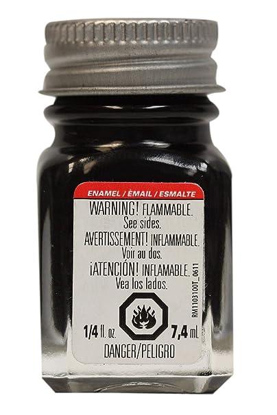 Amazon.com: Esmalte de 1/4 Oz Color Negro Brillante: Home ...