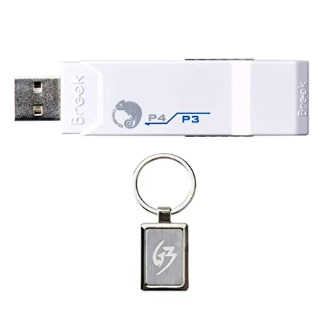 dc0fb4359c2 Amazon.com: Gam3Gear Brook Super Converter PS3 to PS4 Controller Gaming  Adapter with Gam3Gear Keychain: Computers & Accessories