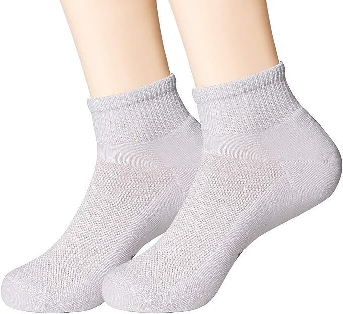 MD 2/4/6 pares de calcetines deportivos Calcetines deportivos unisex Calcetines deportivos transpirables para practicar fitness, tenis, trotar, todos los días: Amazon.es: Ropa y accesorios