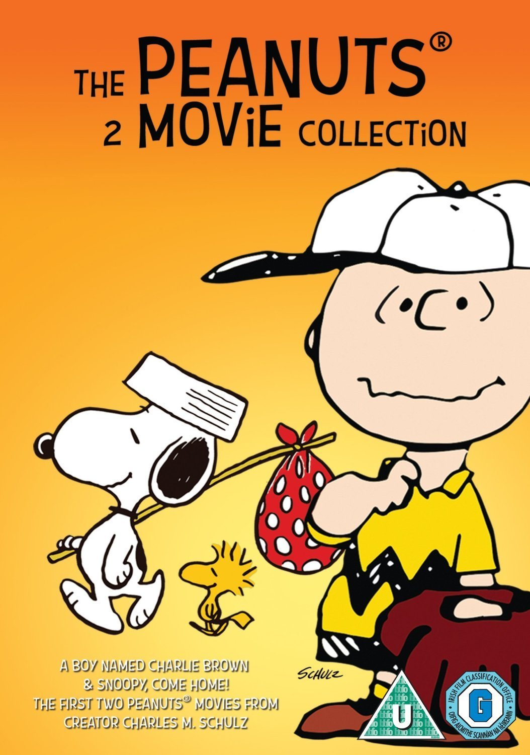 c3d730f6397303 The Peanuts - 2 Movie Collection  Snoopy Come Home   A Boy Named Charlie  Brown DVD  Amazon.co.uk  Bill Melendez  DVD   Blu-ray