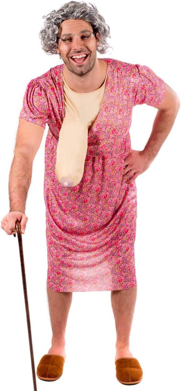 Fun Shack Disfraz de Abuela Despedida de solter - Un Tamaño ...