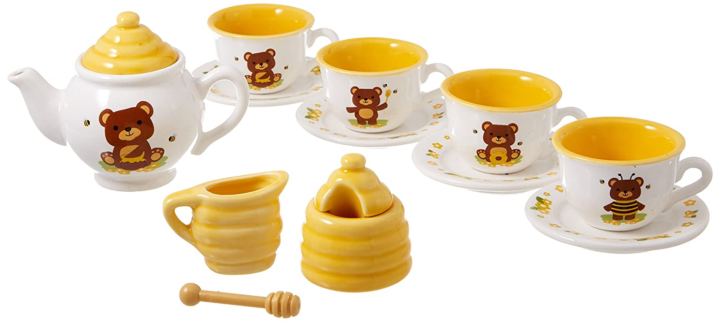 Schylling Honey Bear Porcelain Tea Set