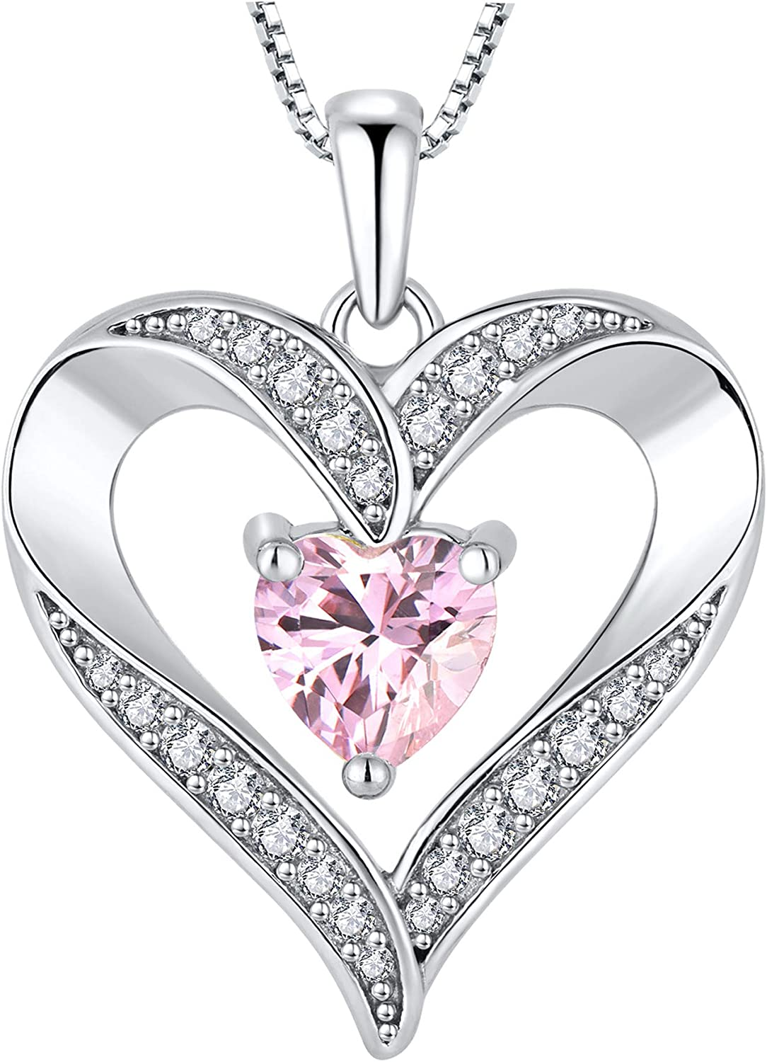 YL Women's Special price Heart Necklace 925 Pendant Manufacturer regenerated product Sterling Love Silver