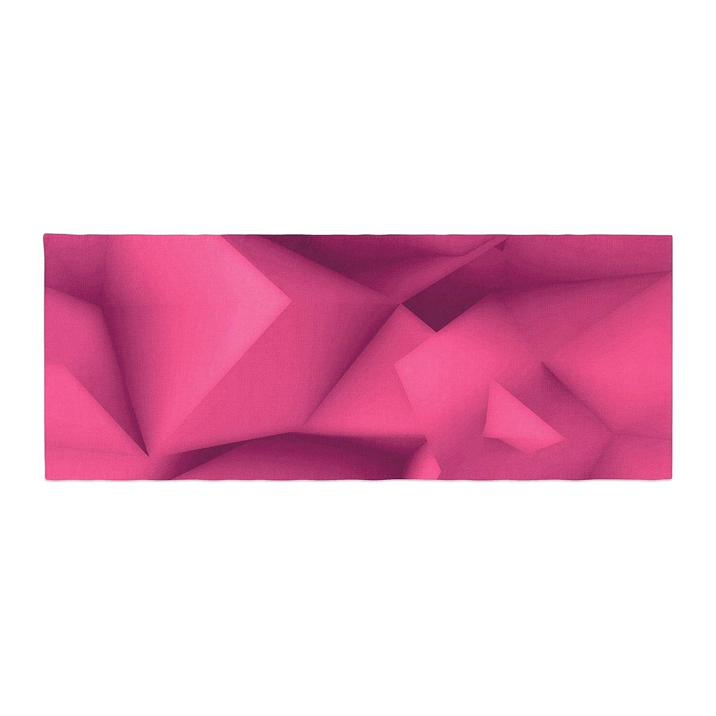 Kess InHouse Danny Ivan Purple Surface Bed Runner