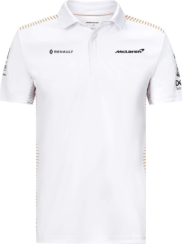 Team Polo Taille XS /à XXL Blanc McLaren Official Formula 1 Merchandise 2020 Collection Homme