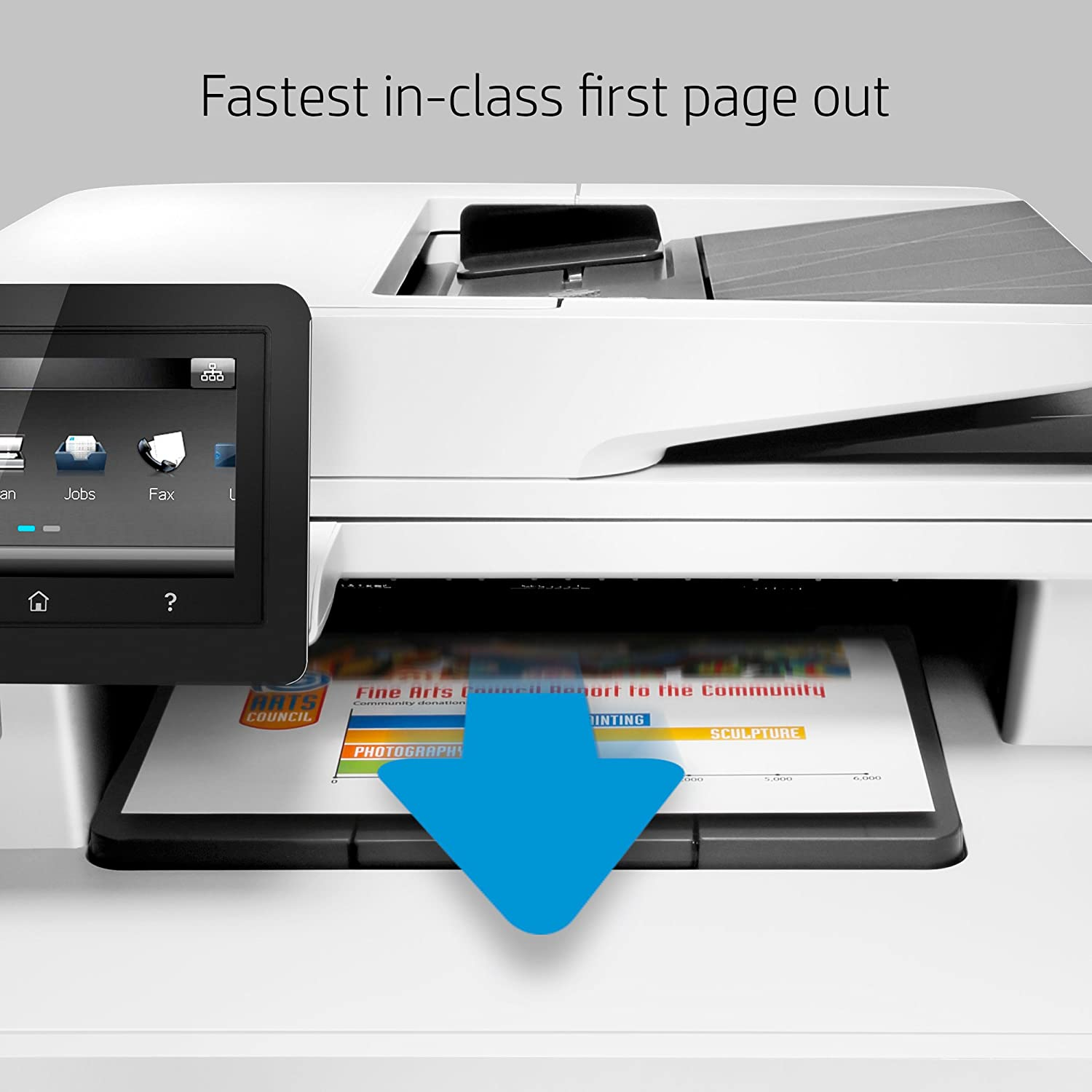 Color printing office depot - Amazon Com Hp Laserjet Pro M477fnw Multifunction Wireless Color Laser Printer With Built In Ethernet Cf377a Electronics