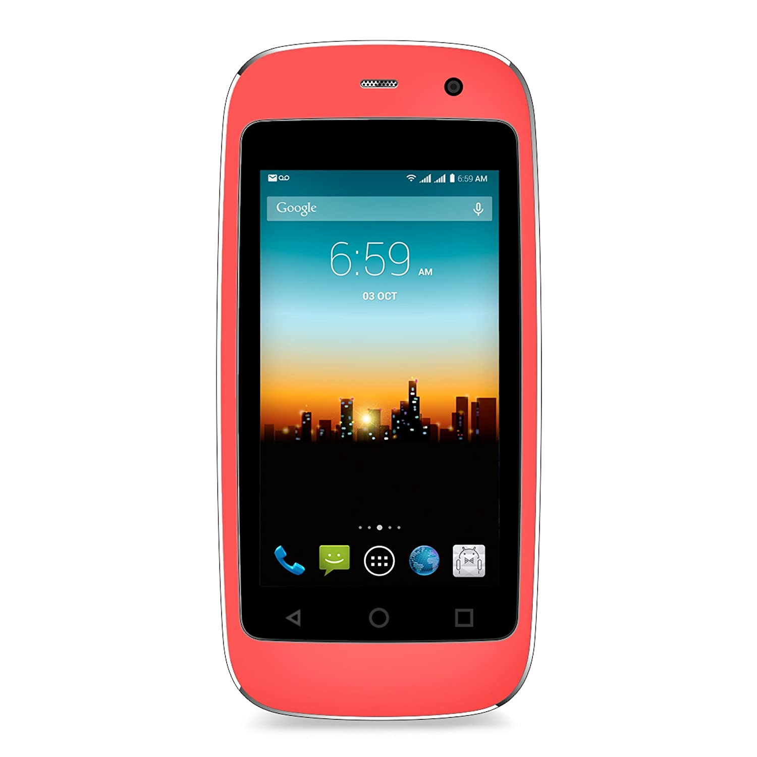 "POSH MOBILE MICRO X, The Smallest Smartphone in the World, ANDROID UNLOCKED 2.4"" GSM SMARTPHONE with 2MP Camera and 4GB of Storage. 1 Year warranty. (MODEL#: S240 PINK)"