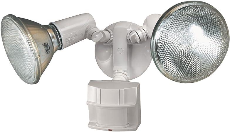 Heath Zenith, Heavy Duty Motion Sensor Security Light, White