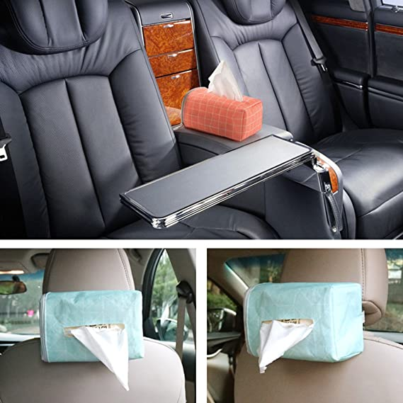 Amazon.com: Honghong Cloth Tissue Box Napkin Storage Case Holder for Home Auto Car Vehicle Home Decor (Red): Kitchen & Dining
