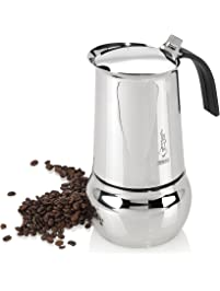 Amazon Com Stovetop Espresso Amp Moka Pots Home Amp Kitchen