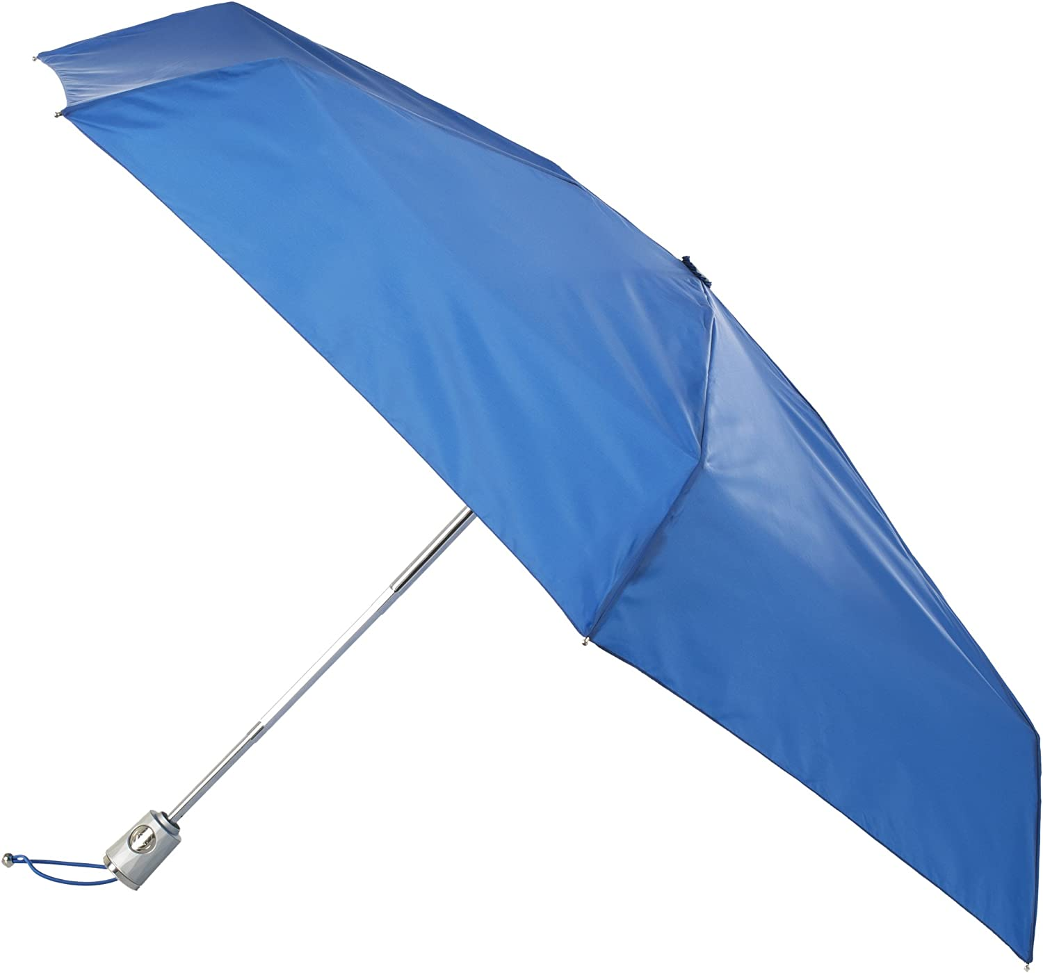 Black totes Automatic Open Close Water-Resistant Mini Travel Foldable Umbrella with Sun Protection