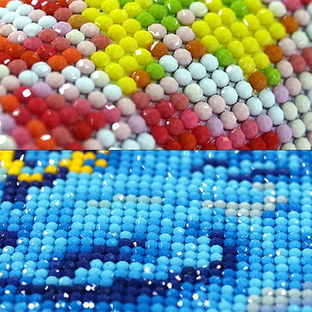 Kofun 5D Pintura Diamante BRICOLAJE Pintura de Pintura DIY 5D By N/úmeros Diamantes Bordado Pintura Kit de punto de Cruz DIY Decoraci/ón Para El Hogar /Ángel 30x42 cm