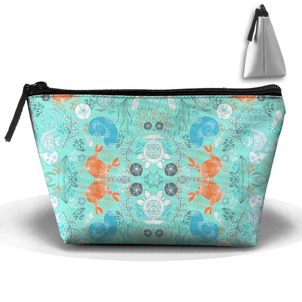 chic Beach Fun Travel Kit Organizer Bathroom Storage Cosmetic Bag Carry Case Toiletry Bag