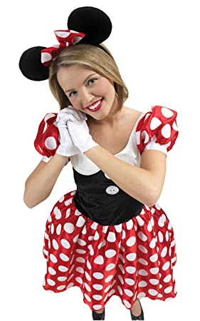 Rubieu0027s Official Ladies Disney Minnie Mouse Adult Costume - Small  sc 1 st  Amazon UK & Rubieu0027s Official Ladies Disney Minnie Mouse Adult Costume - Small ...