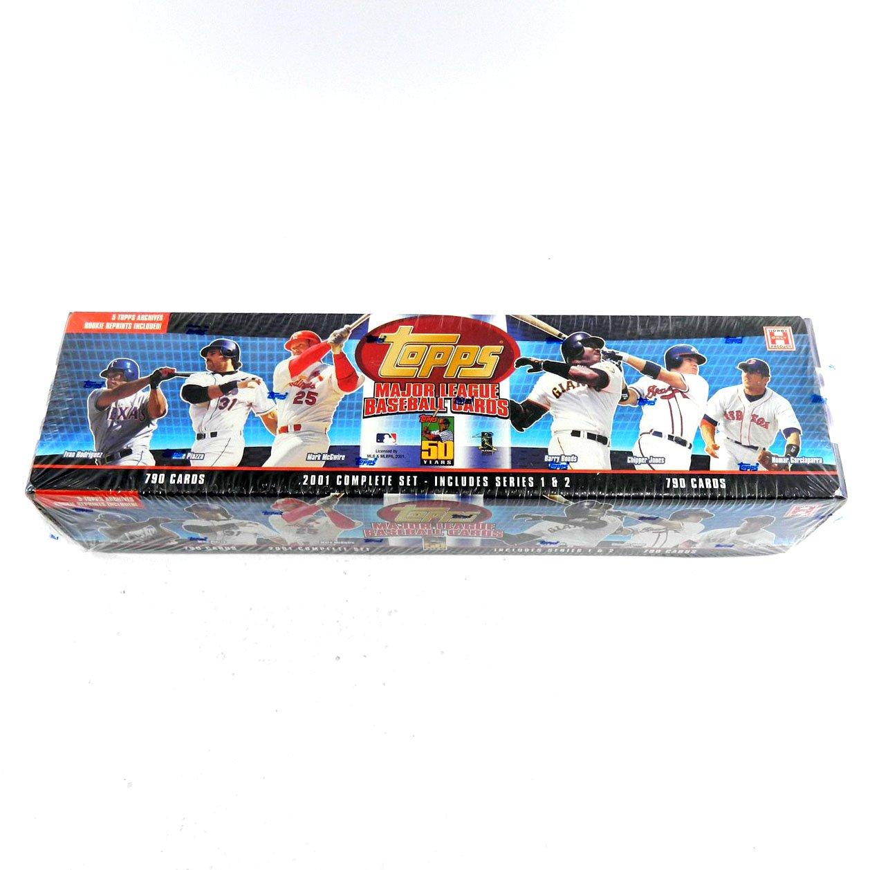 2001 Topps Baseball Hobby Factory Set Blue (790) ^ Topps Archives RC Reprints by Topps Hobby