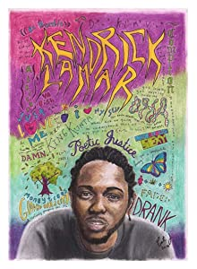 Kendrick Lamar Poster Print Home Decor Gift
