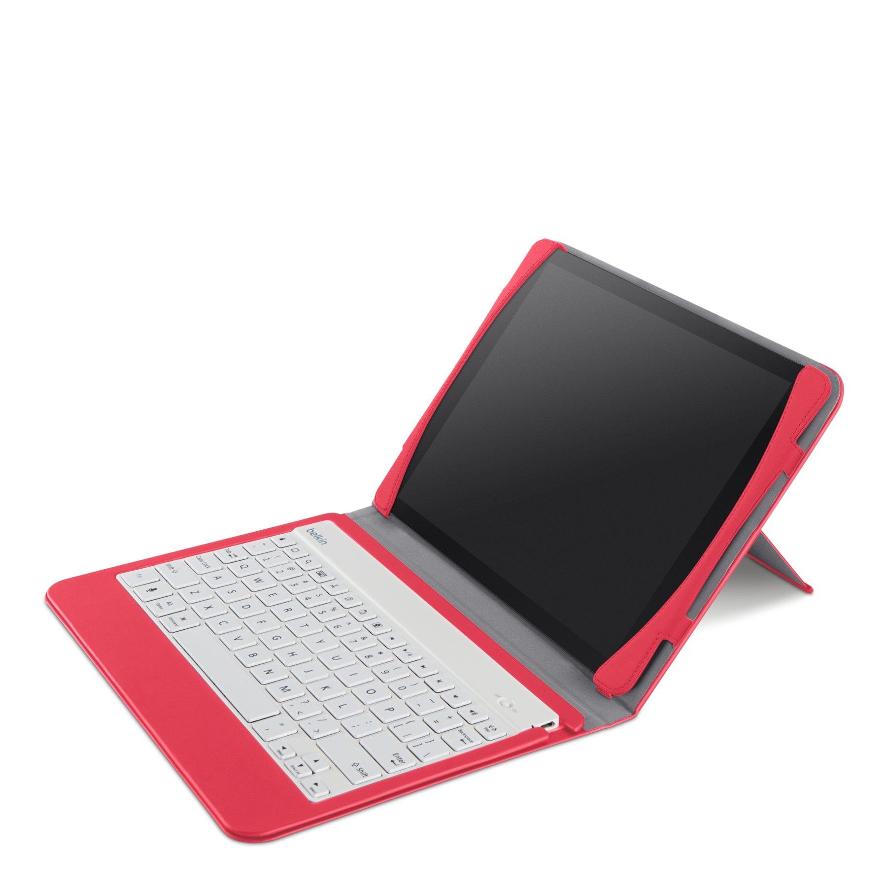 Belkin QODE Slim Style Keyboard Case for iPad Air - Sorbet (F5L152ttC04)