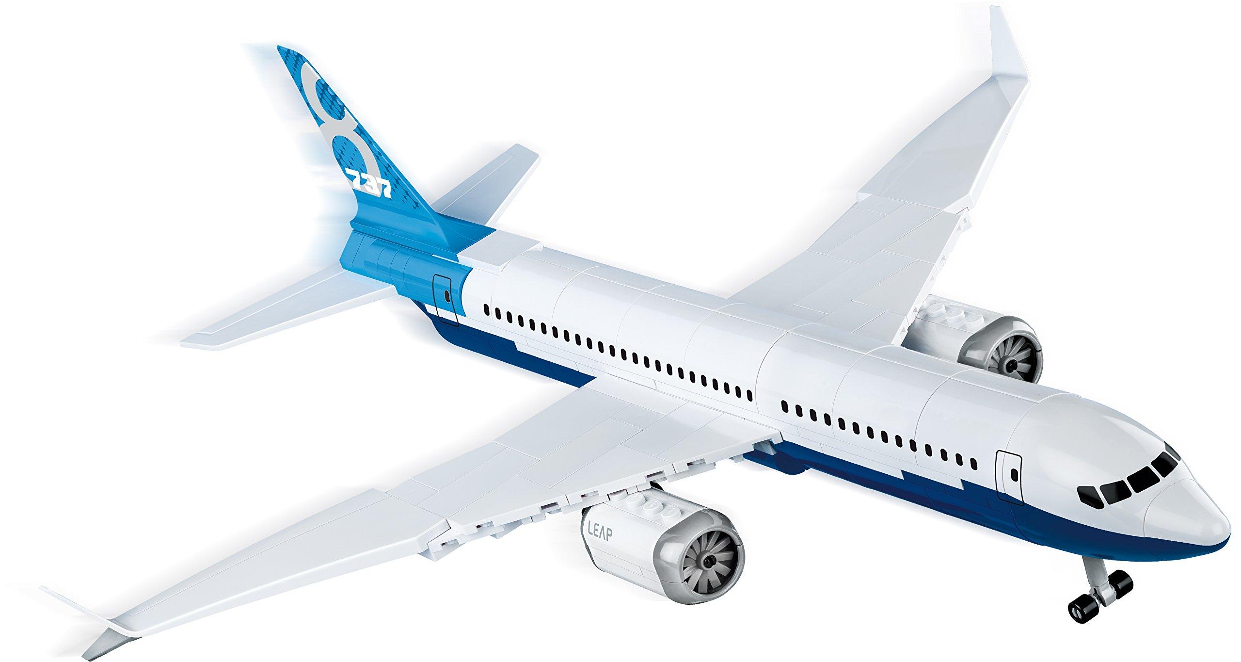 COBI Boeing 737 Max 8 Plane